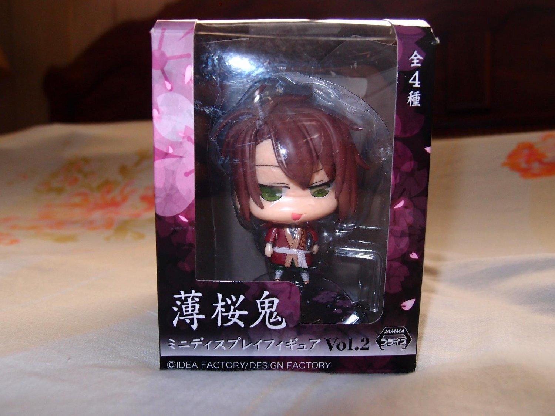 HAKUOUKI Okita Souji grinning version Mini Display Figure Vol 2
