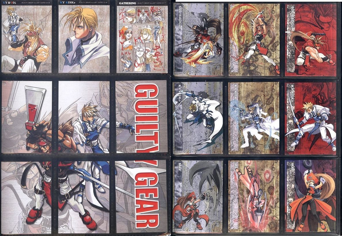 GUILTY GEAR 90 cards RARE