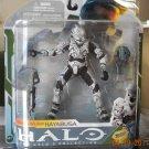 2009 McFarlane Halo 3 Series 5 Spartan Soldier Hayabusa White