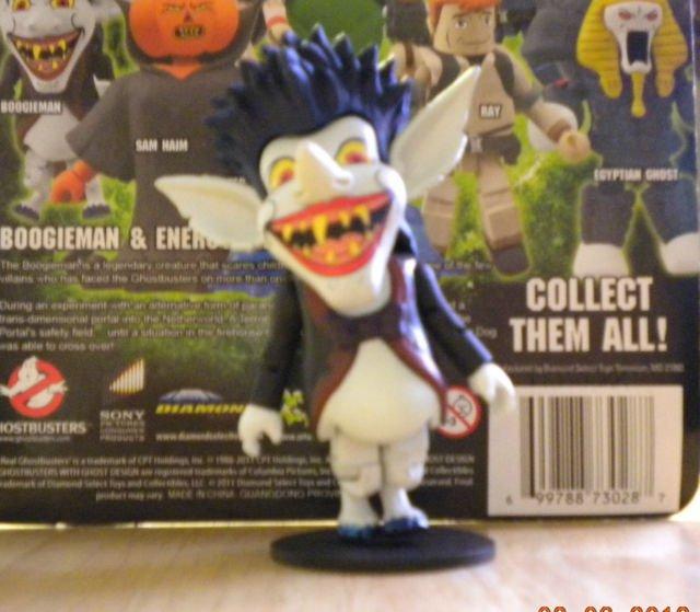 Minimates The Real Ghostbusters Boogieman TRU Exclusive Figure