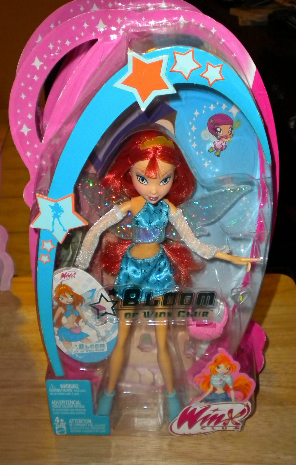 Bloom of Winx Club Charmix Doll With Wings NEW VHTF RARE