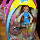 Bloom of Winx Club Rainy Day Fairy Doll With Umbrella NEW VHTF RARE
