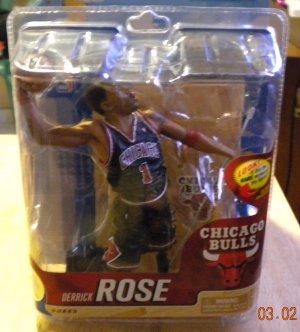 Derrick Rose McFarlane NBA Basketball Series 20 Bronze Variant Chase 33 of 2000