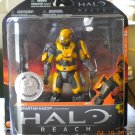 2010 McFarlane Halo Reach Series 1 Yellow/Grey Spartan Hazop TRU Exclusive