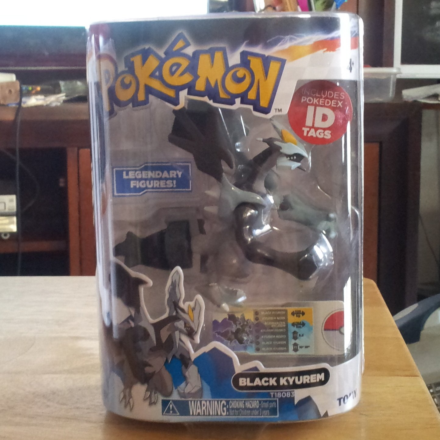 Black Kyurem 2013 Pokemon Legendary Figure Series 1