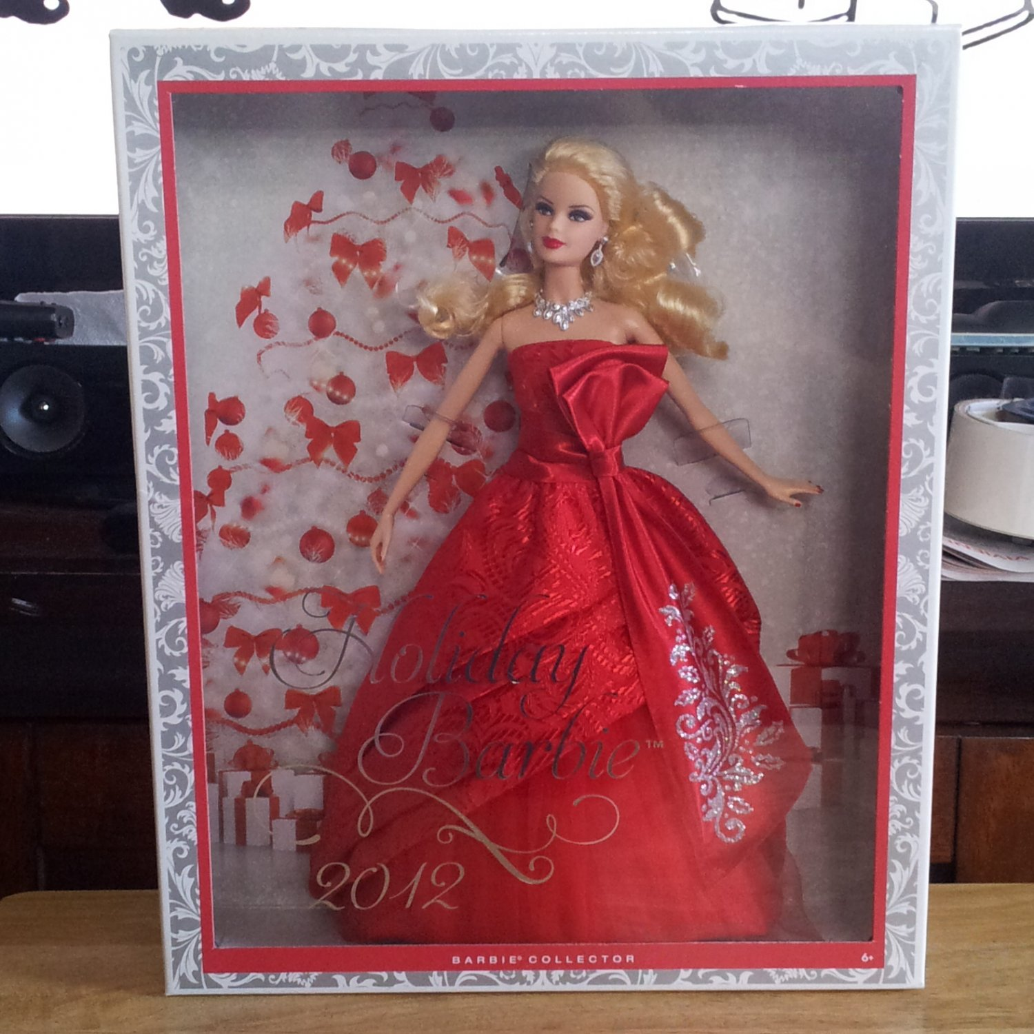 2012 Holiday Barbie Doll NEW