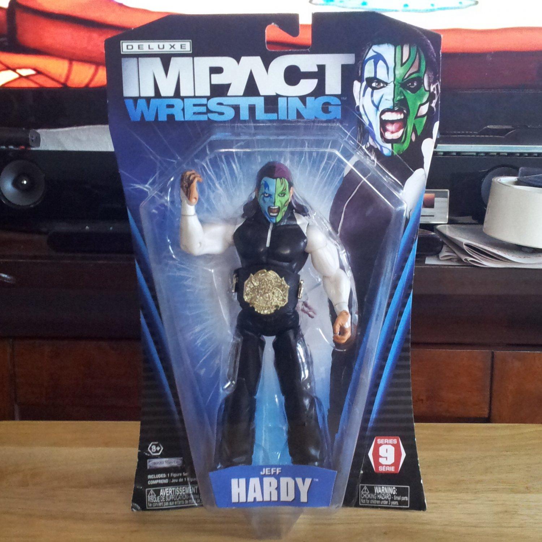 Jeff Hardy TNA Impact Wrestling Series 9 by Jakks Pacific