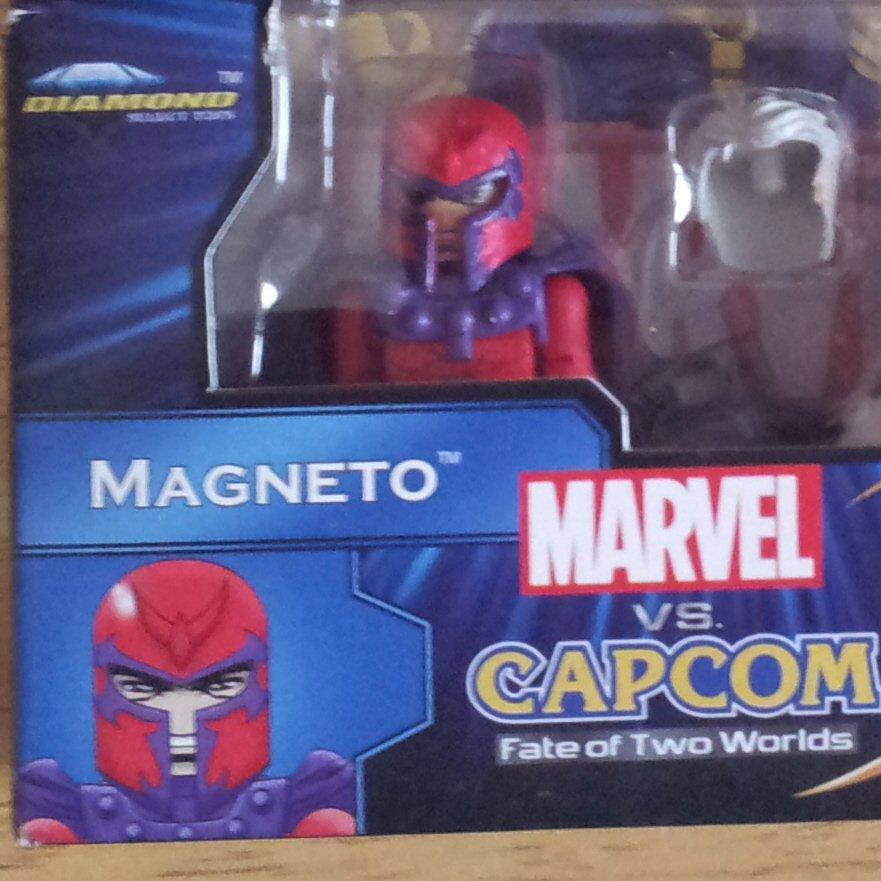 Marvel Minimates Magneto Marvel vs Capcom TRU Exclusive New