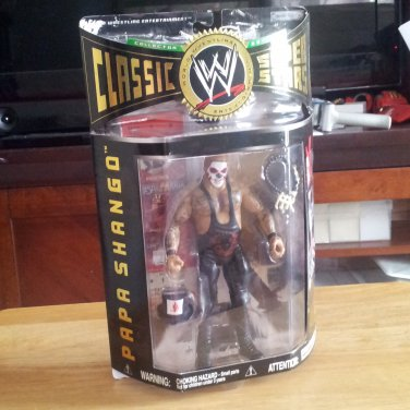 Papa Shango WWE Classic Superstars Series 9 by Jakks Pacific