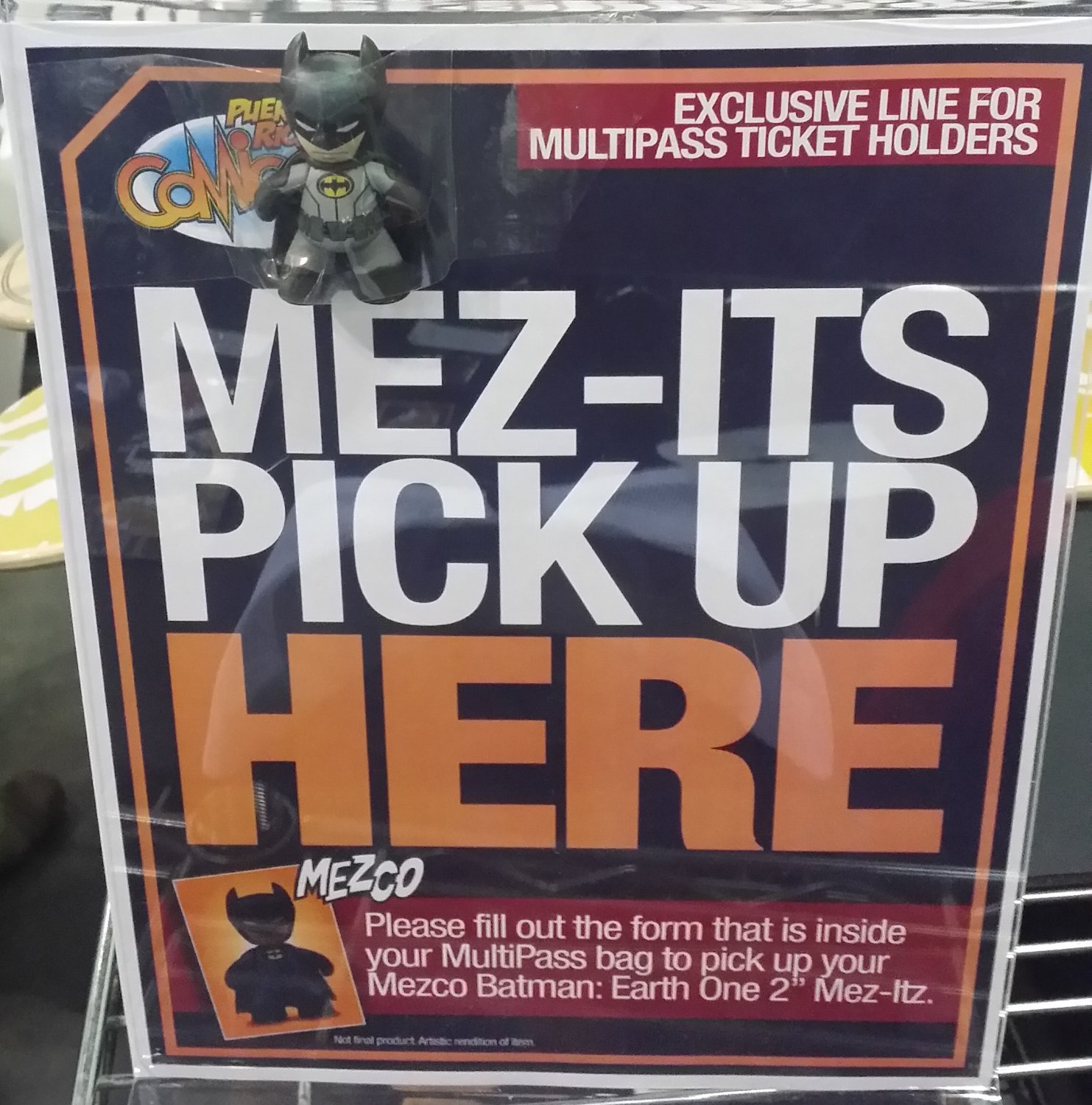 "2015 PRCC Exclusive 2"" Mez-Itz Batman Earth One"