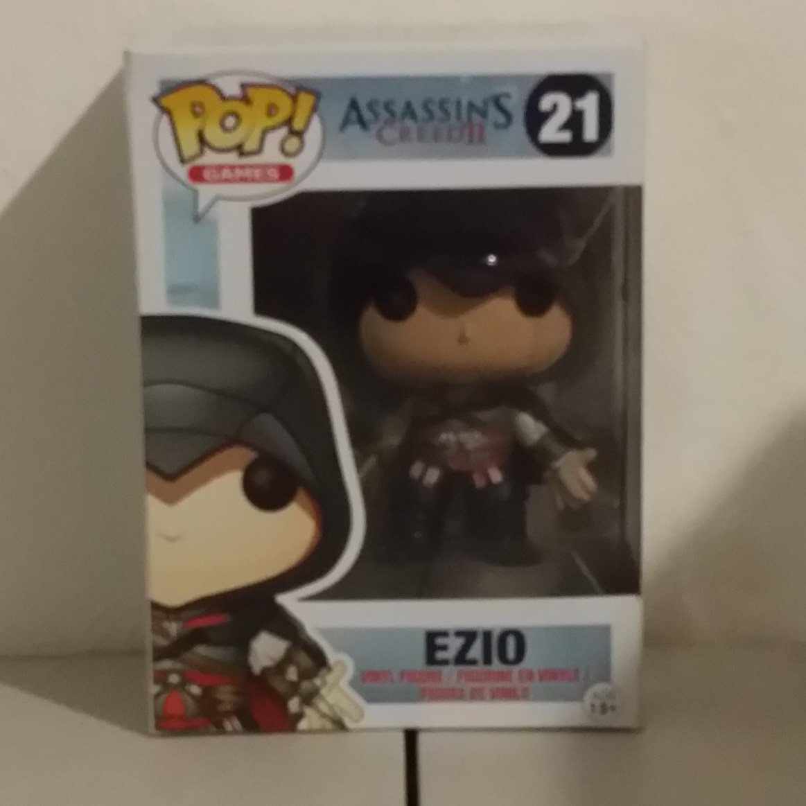 Funko POP! Games Ezio with Black Hood from Assassin's Creed