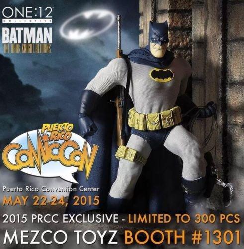 2015 PRCC Mezco One:12 Collective Exclusive Batman: Dark Knight Returns