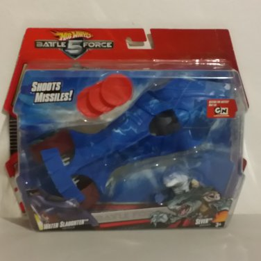 Battle Force 5 Water Slaughter with Sever 1:24 Hot Wheels HTF International Package