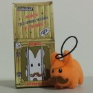 Orange with Mustache Kidrobot Kozik Mini Plush Labbit with Hang Cord