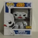 "Funko POP! Star Wars 6"" Flocked Wampa Hot Topic Exclusive"