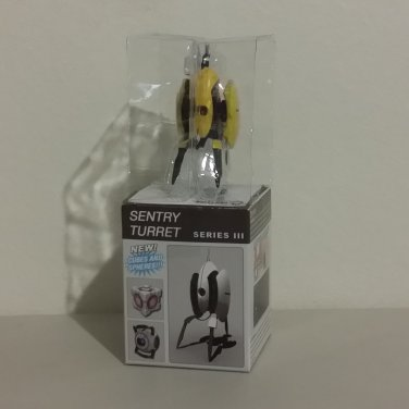 Portal 2 Yellow Turret Opened from Neca Sentry Turret Series 3