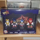 Sonic Forces Tails Sonic Classic Sonic Knuckles by Tomy 4 Pack New Rare Sonic the Hedgehog
