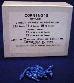 2310 Direct Sprues with Reservior Corning 12ga 250 qty