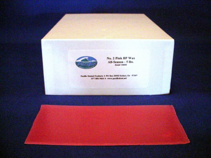 2000 Pacific Base Plate Wax 5 lb.