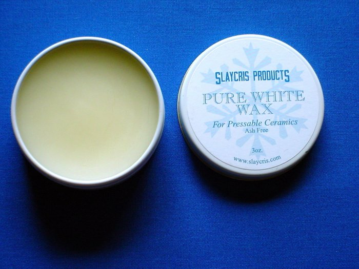 2137 Pure White Wax Slaycris 3 oz.
