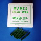 2212 Inlay Wax #2 Green Sticks Maves 1 lb.