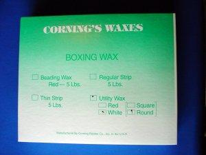 2311 Utility Wax White - Rope Wax lg. Corning 5 lb.