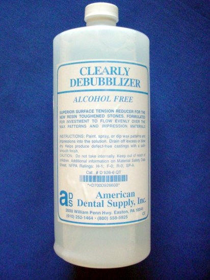 3019 Clearly Debubblizer American Dental Supply 32oz.