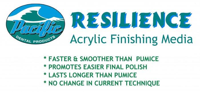 1600 Pacific Resilience Acrylic Finishing Media 20 lb.