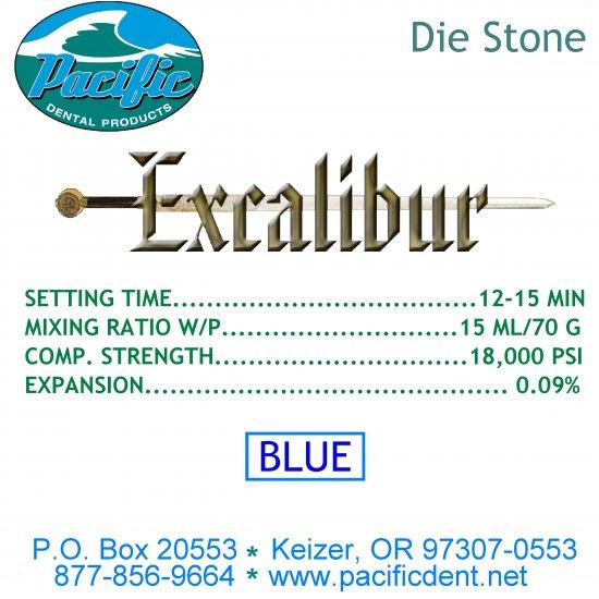 Blue Excalibur Model Stone 25 lbs.