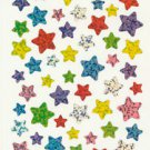 Glittery Star Stickers  60+