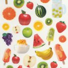 Fruits Apple Banana Grape Watermelon Photo Sticker 35++