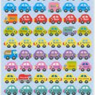 Reward Compliment Sticker Car theme 72 pieces