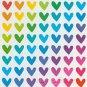 Heart  Stickers  90+