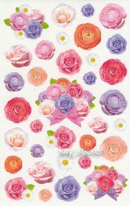 Rose Flower Daisy Photo Sticker 35++