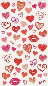Heart  Kiss Love Stickers  50+