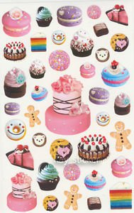 Sweets Desserts Cakes Photo Sticker 35++