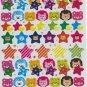 Glitter Bear with Star sticker 70 pieces +