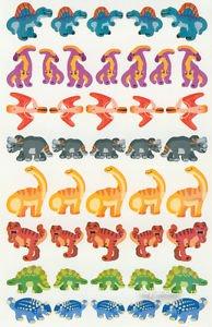 Dinosaurs Stickers Stegosaurus Triceratops Apatosaurus 40+
