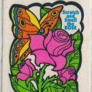 Mello Smello Scratch and Sniff sticker ROSE