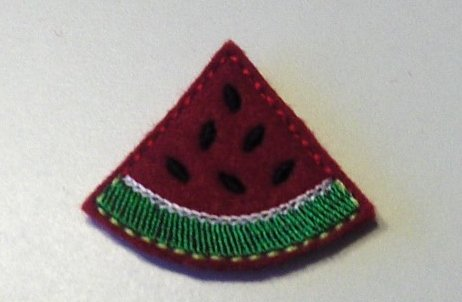 Watermelon Wedge Clippies