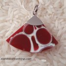 SHELL RED PENDANT