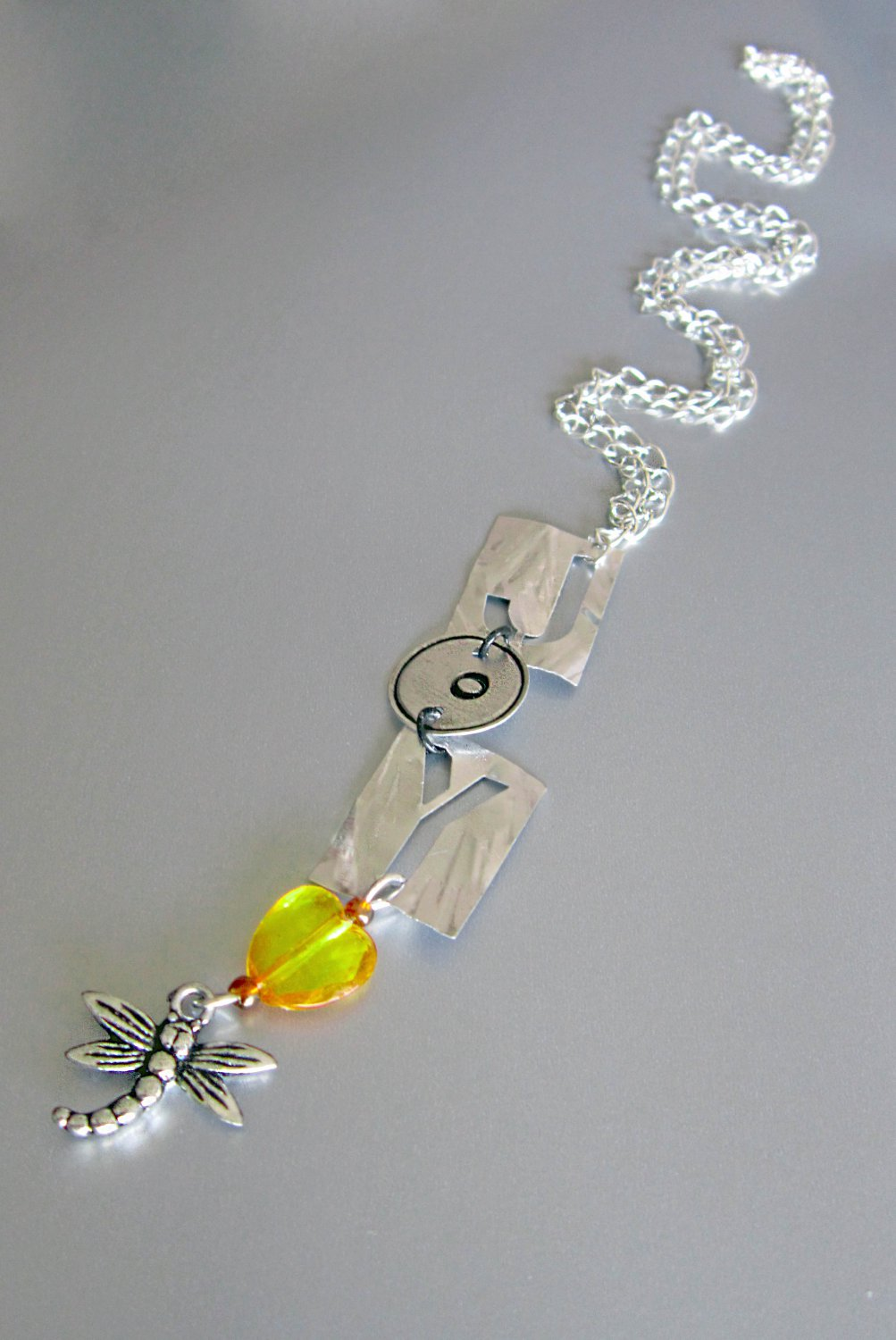 Express Yourself! Joy Comes in the Morning Necklace