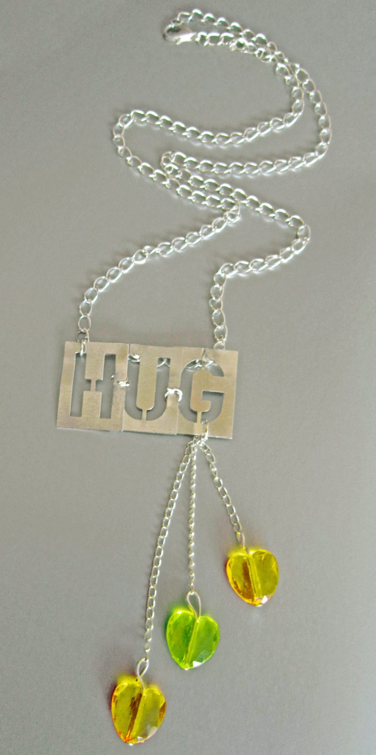 Express Yourself! Friendship Hug Necklace