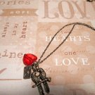 2 Love Birds Charm Necklace