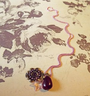 Victorian-inspired Charm Necklace