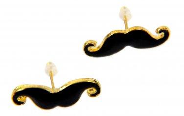 Movember Moustache Earrings