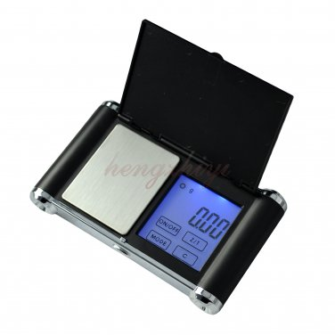 500g x 0.1g Touch Screen Digital Pocket Jewelry Carat Scale Balance w Counting, Free Shipping