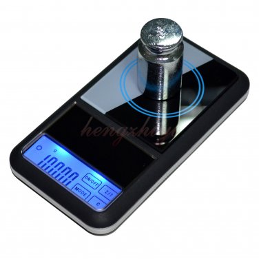 500g x 0.1g Touch Screen Digital Jewelry Pocket Scale Balance w Counting, Free Shipping
