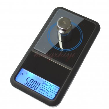 500g x 0.01g Touch Screen Digital Jewelry Carat Pocket Scale Balance w Counting, Free Shipping