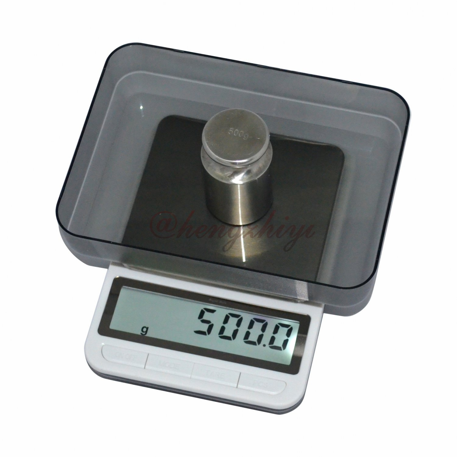 New 3kg x 0.1g Digital Precision Jewelry & Kitchen Scale w Big Platform+Counting, Free Shipping